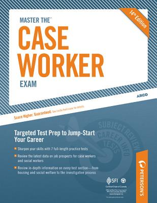 Peterson's Master the Case Worker Exam By Peterson's (COR)